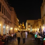 Dining in Souq Waqif