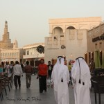 Street view of Souq Waqif